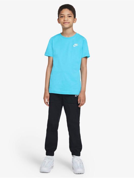 Nike T-skjorter Futura blå