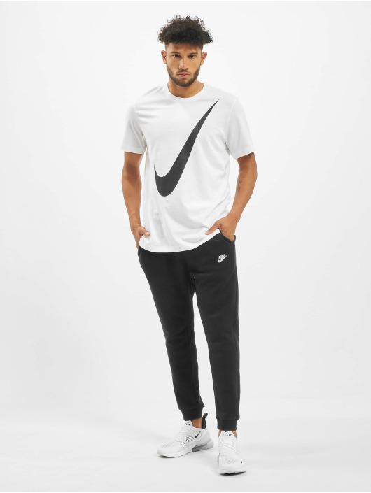 Nike T-skjorter Swoosh 1 hvit