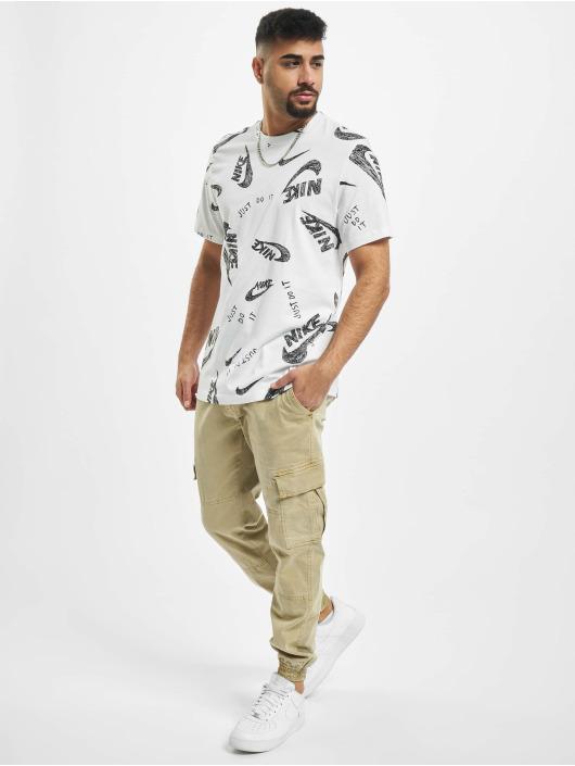 Nike T-skjorter AOP hvit