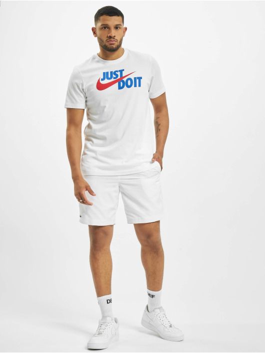 Nike T-skjorter Just Do It Swoosh hvit