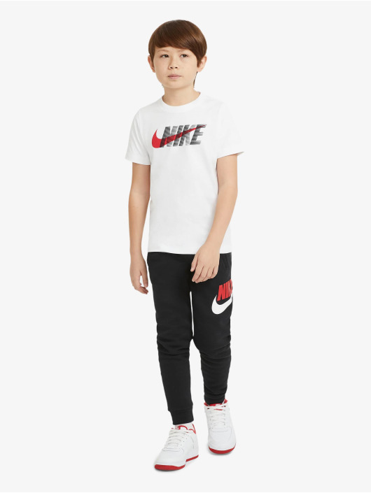 Nike T-skjorter Swoosh hvit