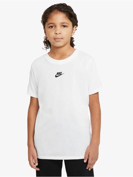 Nike T-skjorter Repeat hvit