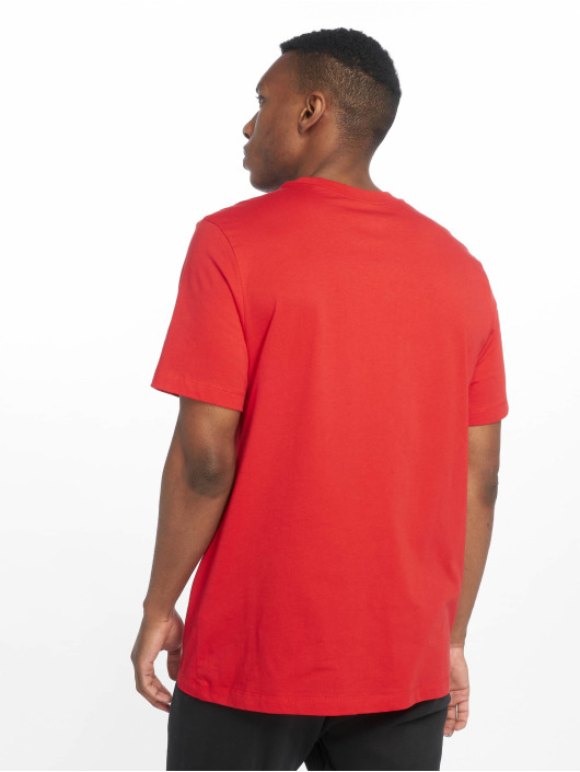 Nike T-skjorter Just Do It Swoosh red