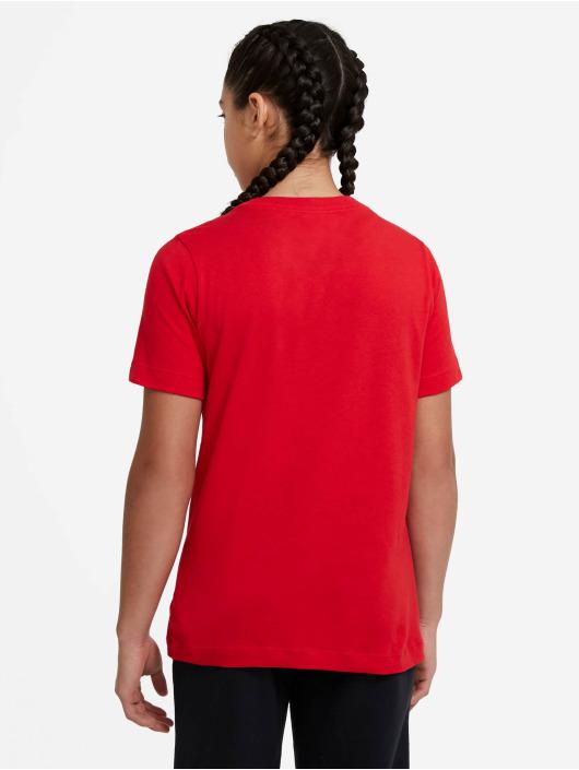 Nike T-skjorter Swoosh red