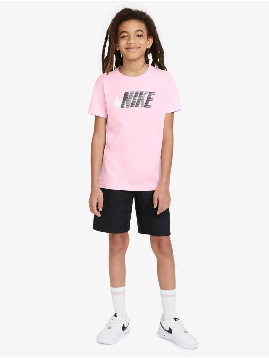 Nike T-skjorter Swoosh rosa