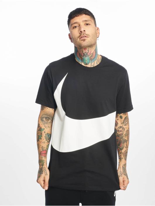 Nike T-skjorter Swoosh 1 svart