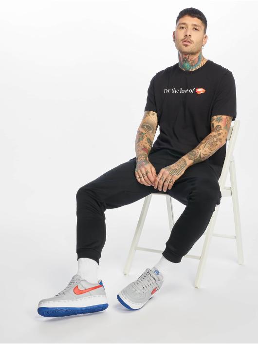 Nike T-skjorter FTWR Pack 3 svart