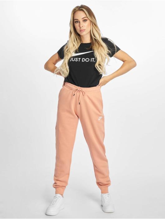 Nike T-skjorter JDI Slim svart