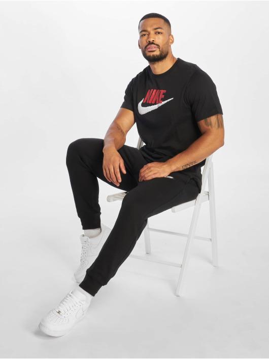 Nike T-skjorter Brand Mark svart