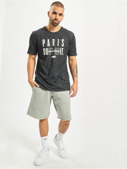 Nike T-skjorter Slub svart