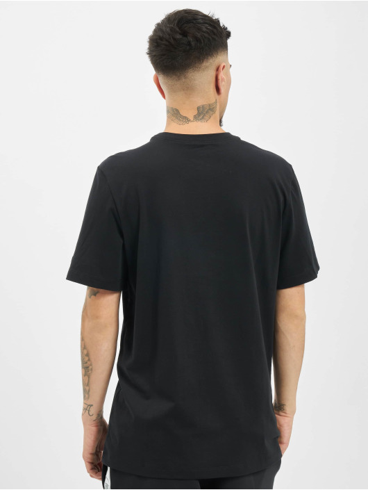 Nike T-skjorter Swoosh PK 2 svart