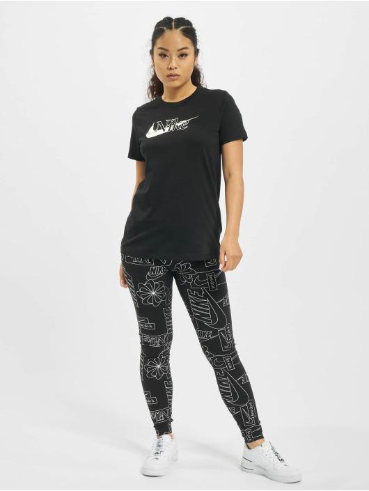 Nike T-skjorter Icon Clash 1 svart