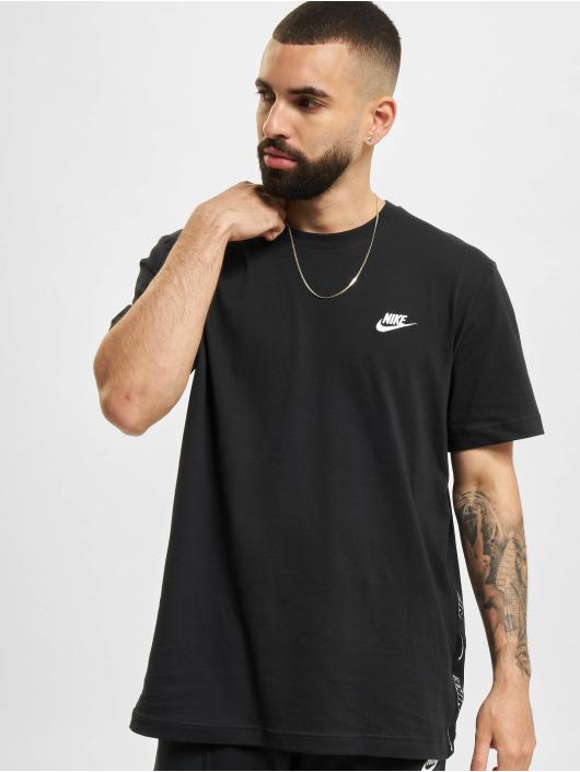 Nike T-skjorter Knit svart