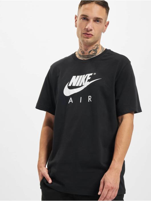 Nike T-skjorter Air svart