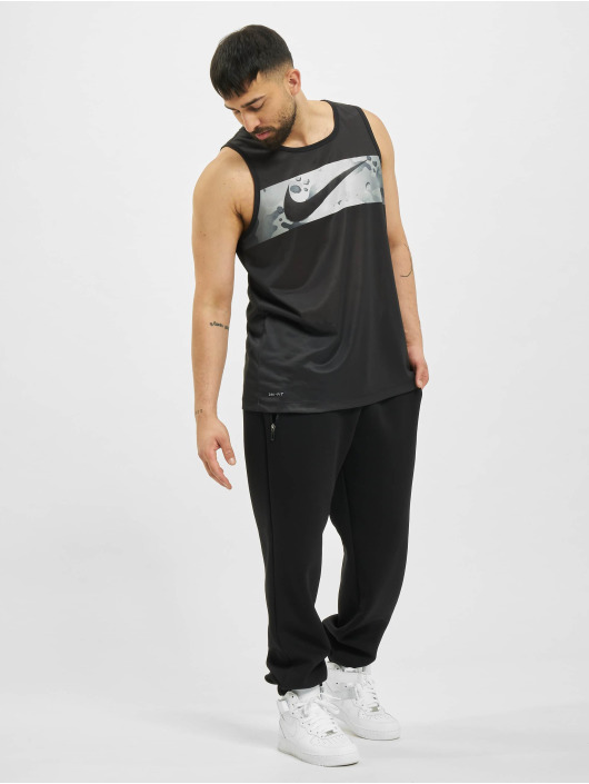 Nike Tank Tops Leg SW Camo èierna