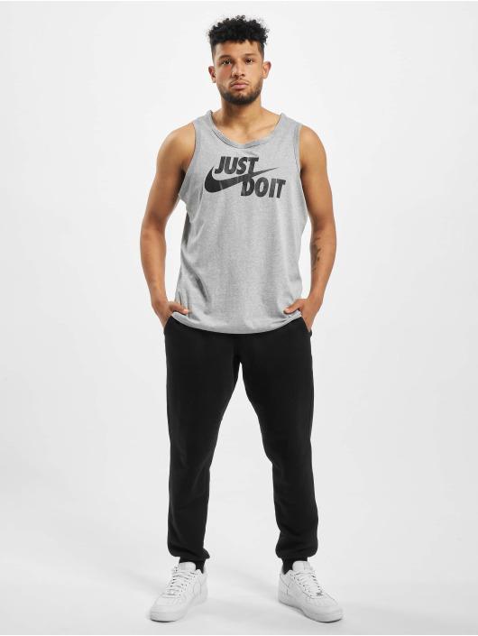Nike Tank Tops Just Do It Swoosh šedá