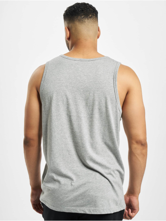 Nike Tank Tops Icon Futura šedá