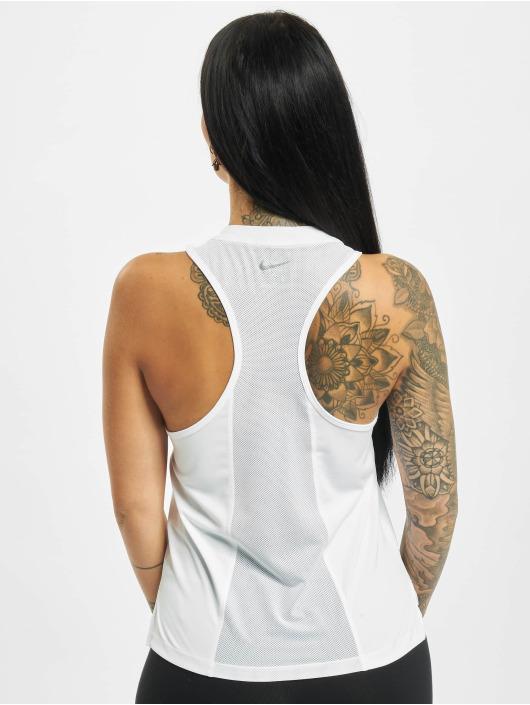 Nike Tank Tops Dri Fit белый