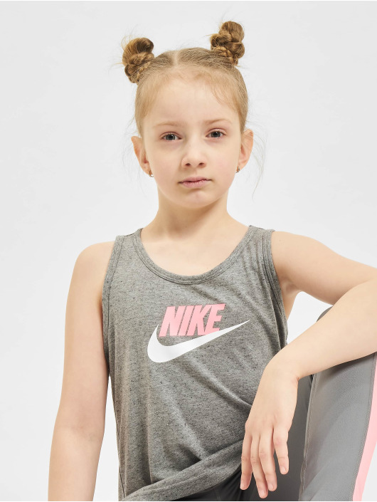 Nike Tank Tops G Nsw Jersey серый