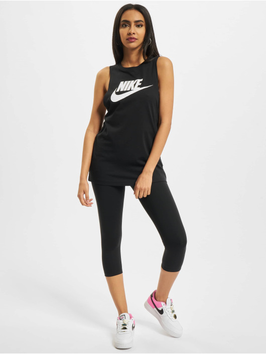Nike Tank Tops Futura New черный