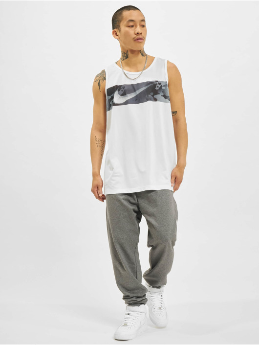 Nike Tank Tops Leg SW Camo bialy