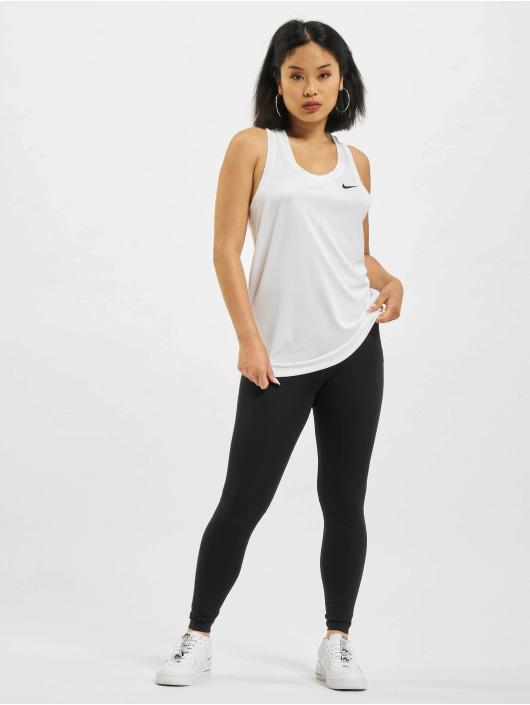 Nike Tank Tops W Nk Df Leg Raceback bianco