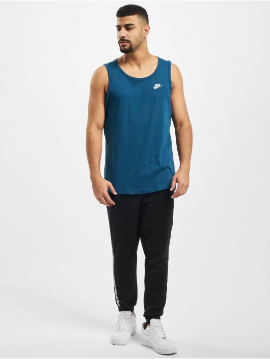 Nike Tank Tops Club blue
