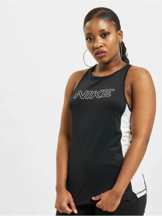 Nike Tank Tops Pro Graphic czarny