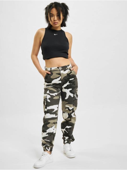 Nike Tank Tops W Nsw Essntl Rib czarny
