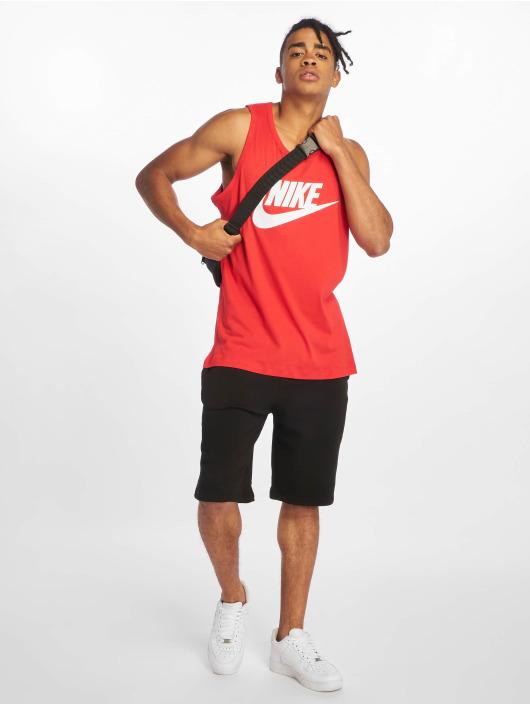 Nike Tank Tops Icon Futura czerwony