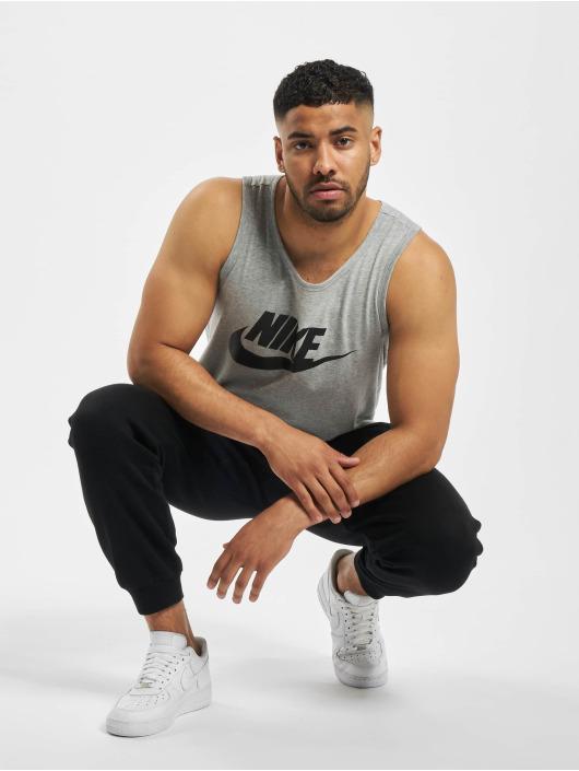 Nike Tank Tops Icon Futura grau