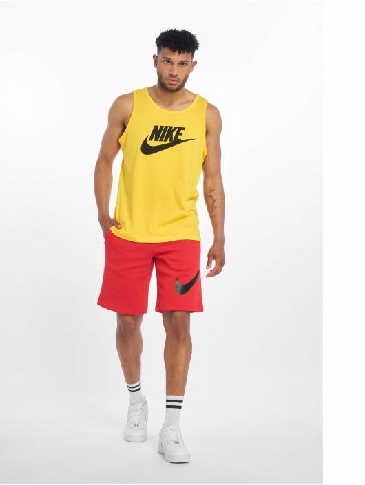 Nike Tank Tops Icon Futura gul