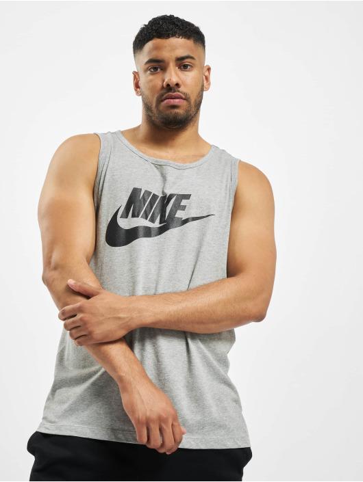 Nike Tank Tops Icon Futura harmaa