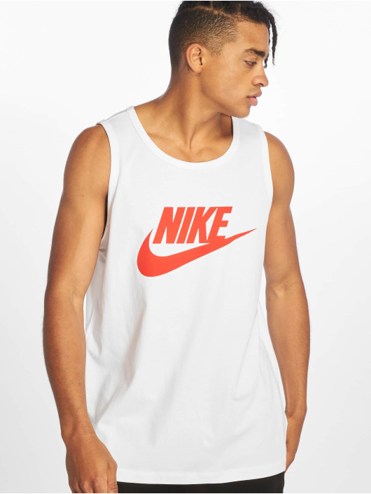 Nike Tank Tops Icon Futura hvid