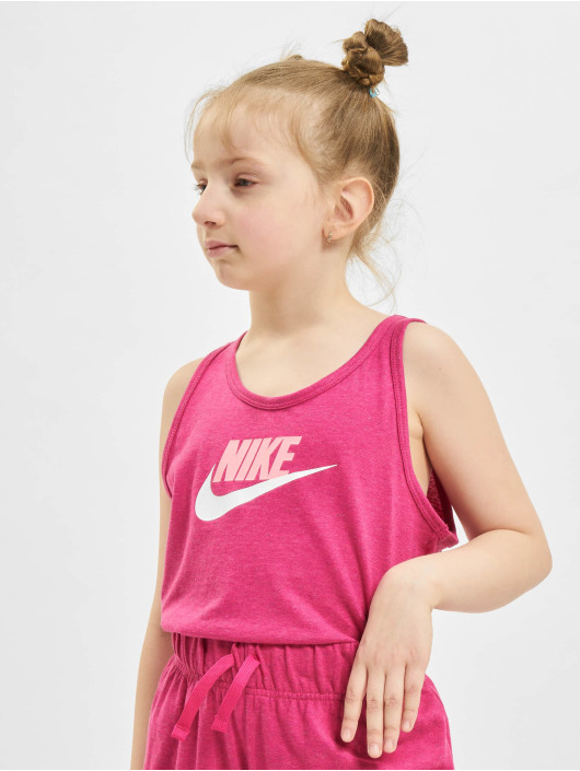 Nike Tank Tops G Nsw Jersey lyserosa