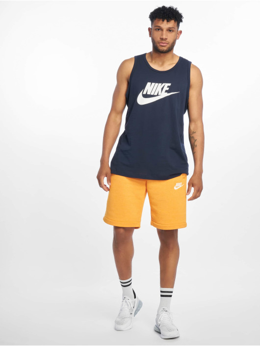 Nike Tank Tops Icon Futura modrá