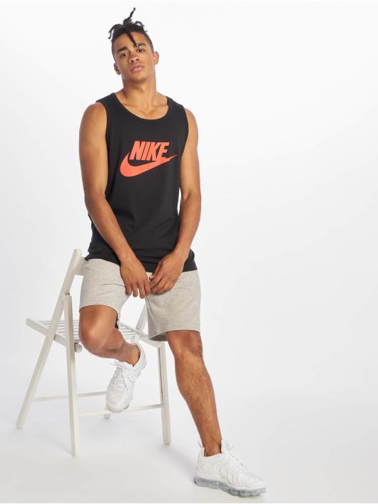 Nike Tank Tops Icon Futura nero
