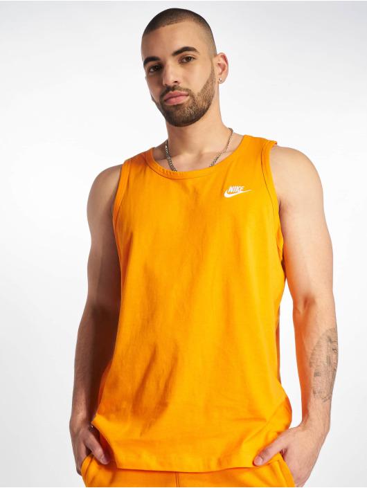 Nike Tank Tops Club oranžová