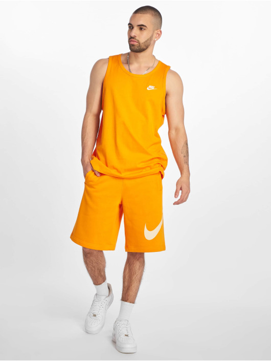 Nike Tank Tops Club oransje