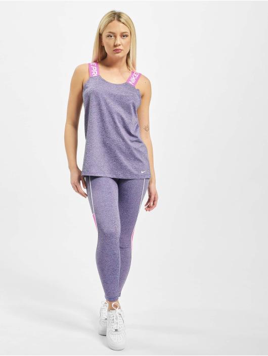 Nike Tank Tops Dry Elastika purple