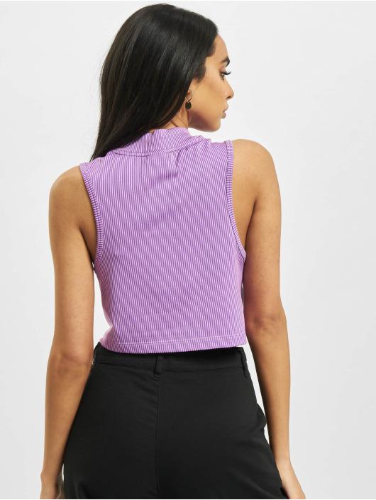 Nike Tank Tops W Nsw Air Rib purpuranpunainen