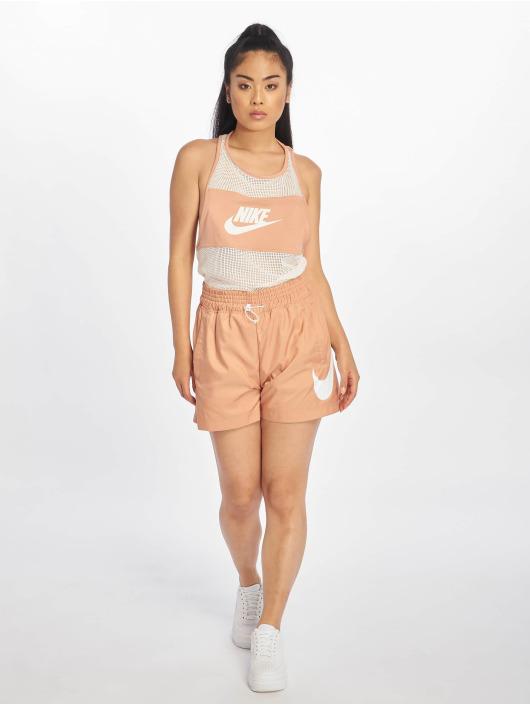 Nike Tank Tops Mesh růžový
