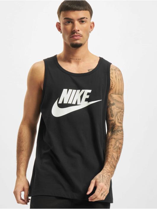 Nike Tank Tops Icon Futura schwarz