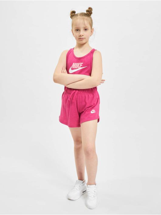 Nike Tank Tops G Nsw Jersey vaaleanpunainen