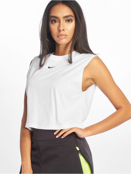 Nike Tank Tops Essential white