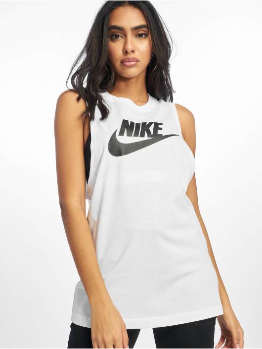 Nike Tank Tops Essential MSCL Futura white