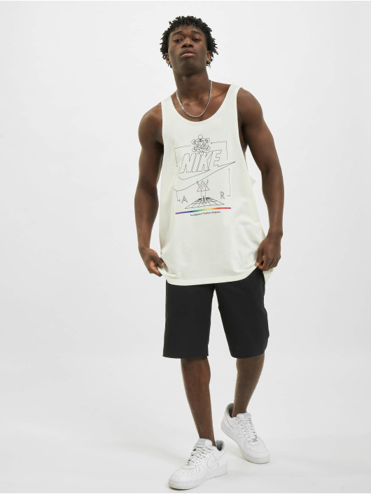 Nike Tank Tops Sportswear white