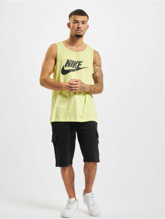 Nike Tank Tops Icon Futura zólty
