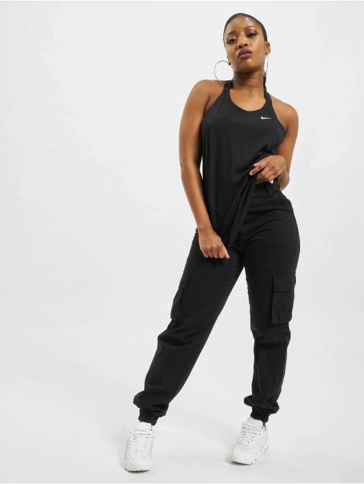 Nike Tanktop W Nk Dry Ess Elastika zwart