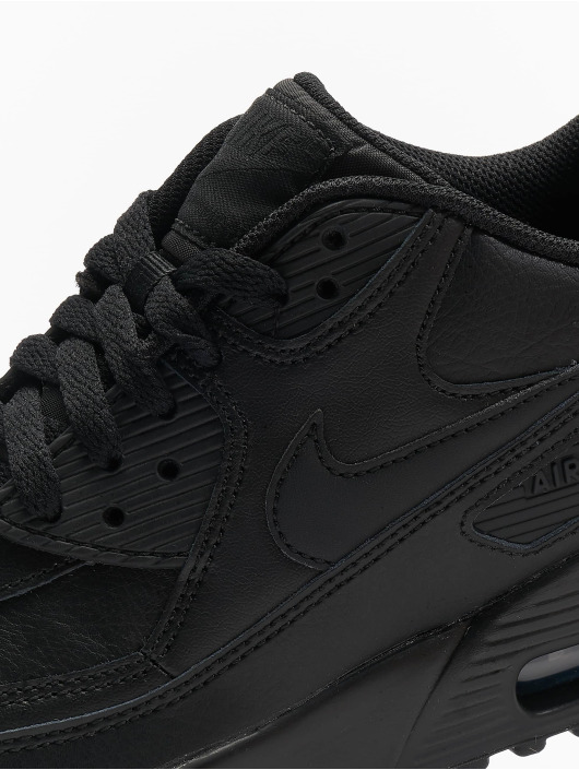 pick up a92b6 159ee Nike Tennarit Air Max 90 Leather (GS) musta ...